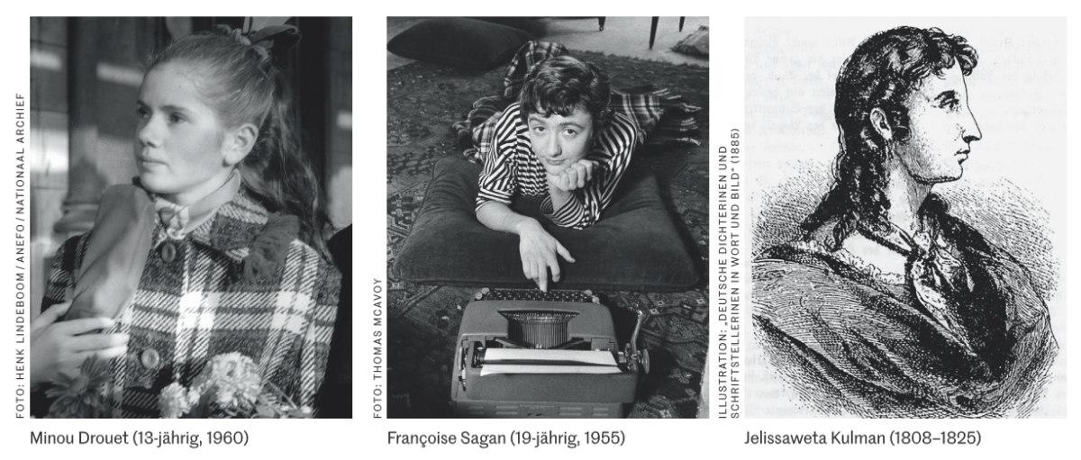 Minou Drouet - Francoise Sagan - Jelissaweta Kulman
